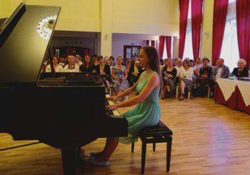 """Festivalio """"Muzika be sienų"""" laureatai sužavėjo druskininkiečius ir kurorto svečius"""