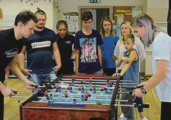 Druskininkų jaunimo užimtumo centre – sportinių veiklų gausa