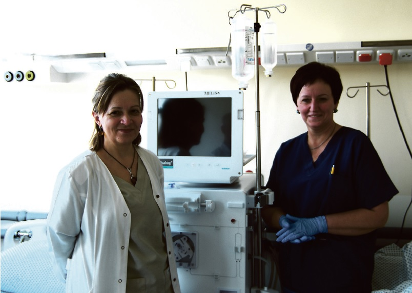 hipertenzijos gydymas hemodialize