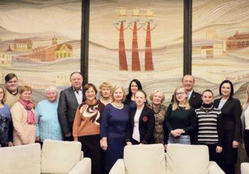 Aktyviems bendruomenės savanoriams – Savivaldybės vadovų padėkos