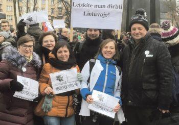 Druskininkų medikai jungiasi prie Lietuvos medikų sąjūdžio iniciatyvų