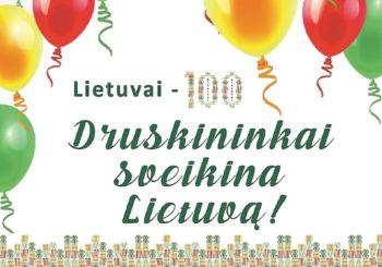 Druskininkų dovana  Lietuvai – 100 tortų