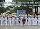 Druskininkų kurorto šventės eitynėse tūkstančiai skėčių gatvę pavers vilnijančia Lietuvos trispalve