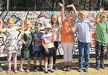 M. K. Čiurlionio meno mokykloje – kūrybinė trijų menų stovykla
