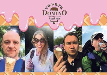 """""""Domino"""" teatro aktoriai Druskininkuose pasitiks ypatingai saldžią vasarą"""