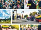 Druskininkų krašto žmonės kartu su viso pasaulio lietuviais giedojo tautišką giesmę