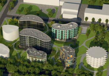 """Druskininkų centre kuriamas architektūros parkas """"Saulės sonata"""""""