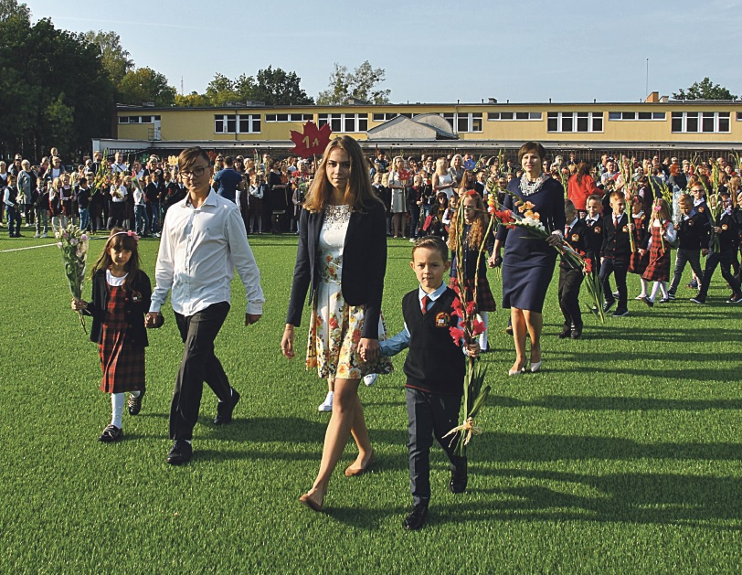 Druskininkų mokyklos šventiškai pradėjo naujuosius mokslo metus
