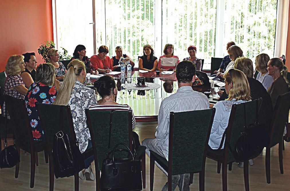 Apskrito stalo diskusijoje – sveikatai palankesnio vaikų maitinimo aktualijos