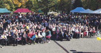 """Druskininkų krašto žmones subūrė šventė """"Mūsų savivaldos diena"""""""