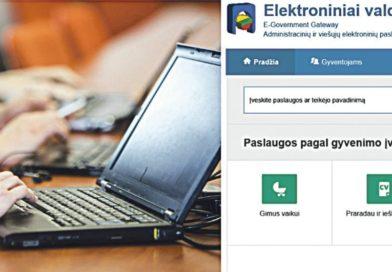 Administracinių paslaugų teikimas – elektroniniu būdu