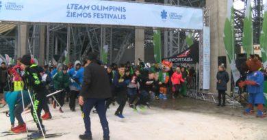 """Druskininkuose """"LTeam olimpinis žiemos festivalis"""" truko net tris dienas (video)"""