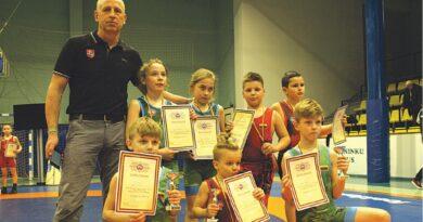 Jaunuosius Druskininkų imtynininkus lydėjo sportinė sėkmė