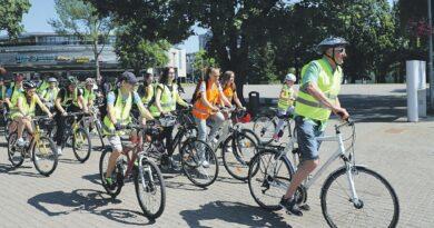 Tarptautinės vaikų gynimo dienos proga – dviračių žygis