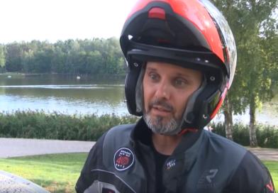 Druskininkai į kelionę aplink pasaulį išlydėjo Karolį Mieliauską (video)