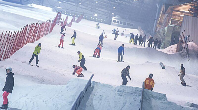 """Žiemos pramogų mėgėjų laukia atnaujinta  """"Snow Arena"""""""