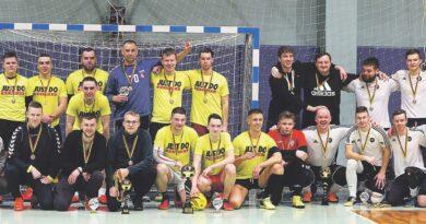Savaitgalį Druskininkuose surengtas salės futbolo čempionatas