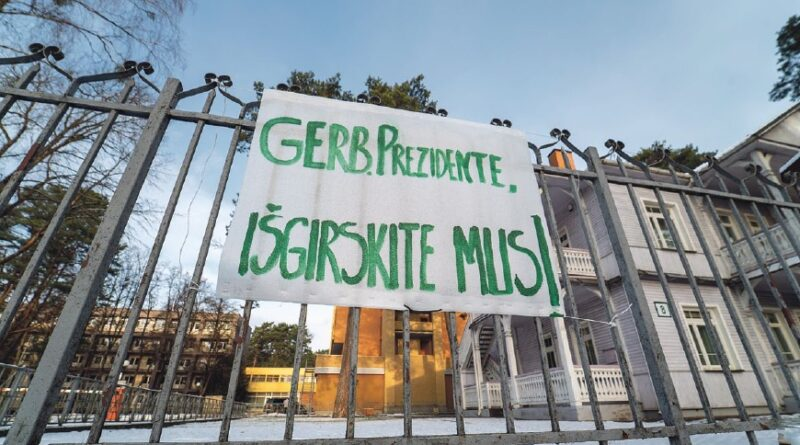 """Kovodami už savo šeimų išlikimą, sanatorijos """"Belorus"""" darbuotojai prašo Prezidentą įsigilinti į viešosios įstaigos situaciją ir vetuoti Užimtumo įstatymo su jį lydinčiais teisės aktais pakeitimus"""