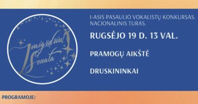 Populiariosios muzikos konkursas – festivalis atkeliauja į Druskininkus
